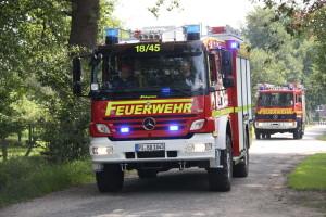 RHS Kreis Pinneberg | Übung mit FF Borstel-Hohenraden