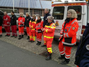 Rettungshundestaffel Kreis Pinneberg Landesübung 2012
