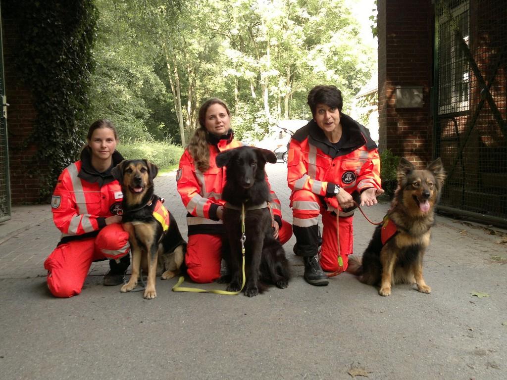 Rettungshunde Pinneberg Prüfung in Wilhelmshaven