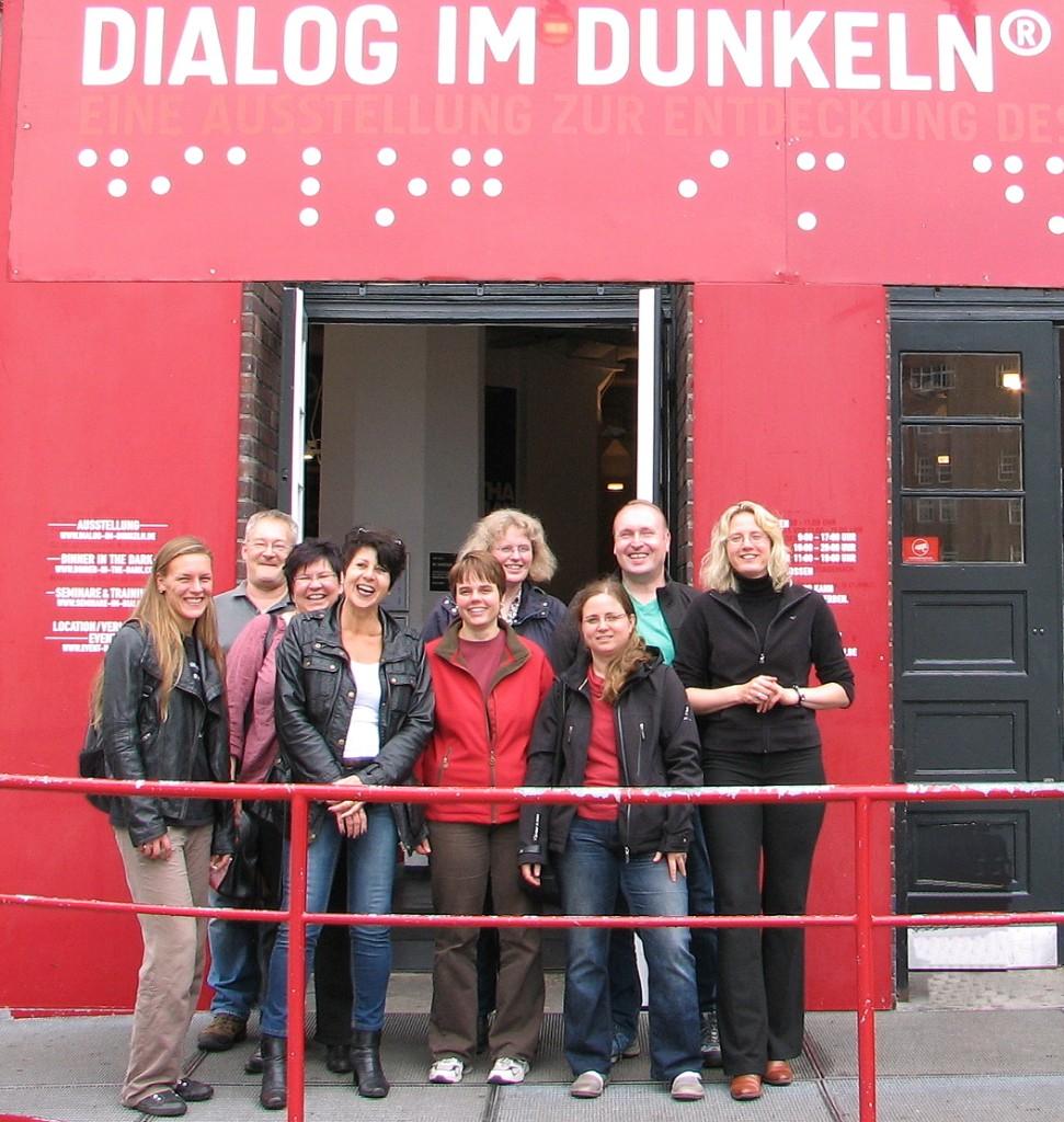 Dialog im Dunkeln - RHS Kreis Pinneberg