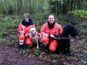 BRH Rettungshundestaffel Kreis Pinneberg - erfolgreiche Teams