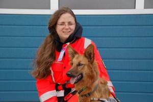 Johanna Heinemeyer mit Suse