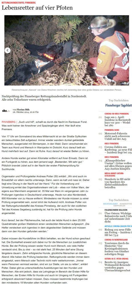 RHS Kreis Pinneberg News