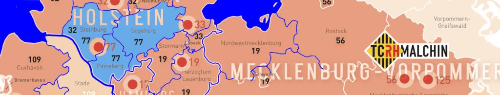Einsatzgebiet Rettungshundestaffel Kreis Pinneberg